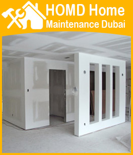 Dubai Carpenter Gypsum Partition Making
