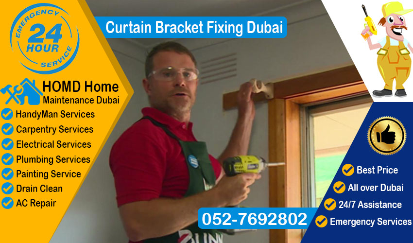 Curtain Bracket Fixing Dubai