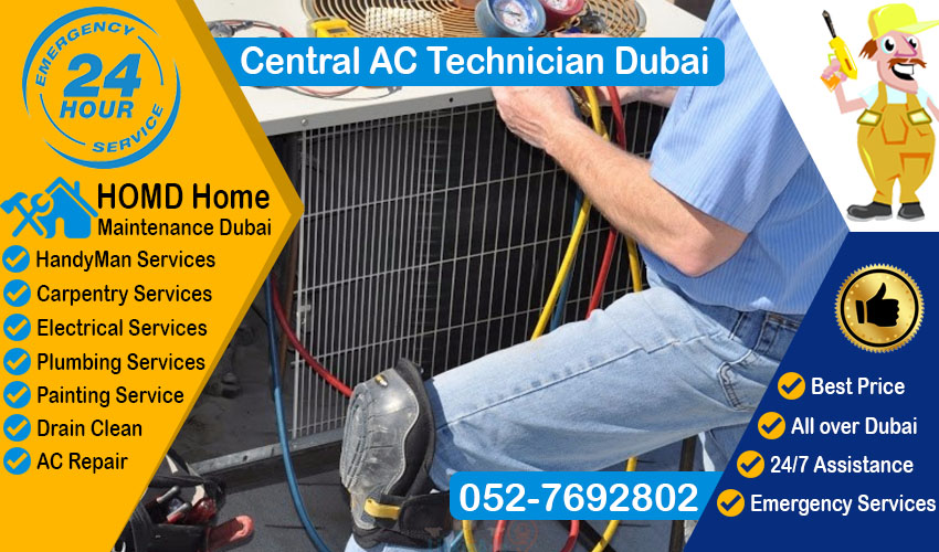 Central AC Technician Dubai