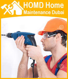 Drilling For TV Wall Brackets fixing Dubai