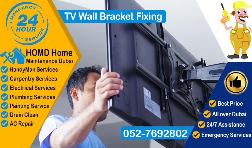 TV Wall Brackets fixing Dubai