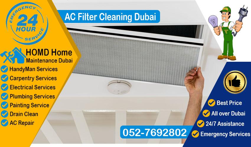 AC Filter Cleaning Dubai