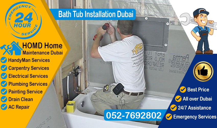 Bath Tub Installation Dubai