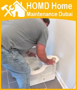 Bathroom Toilet Commode Repair