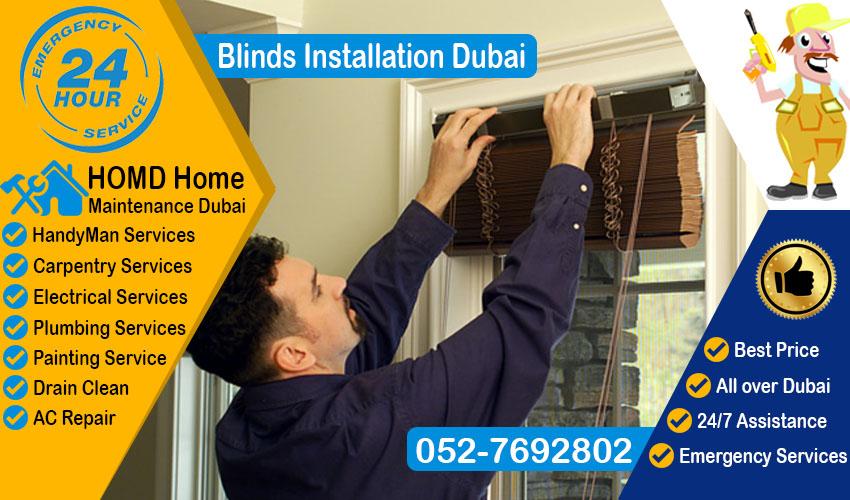 Blinds Installation Dubai