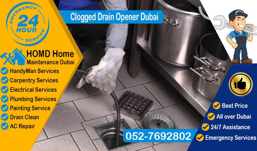 Clogged Drain Opener Dubai