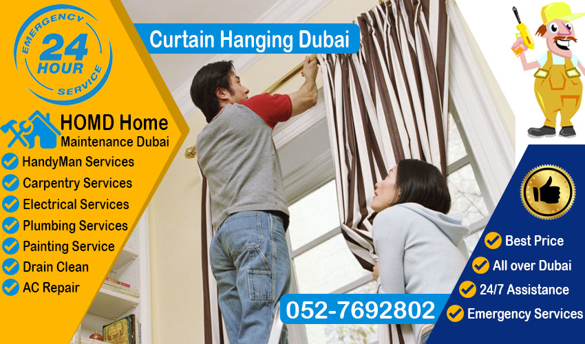 Curtain Hanging Dubai