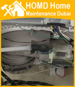 Dishwasher Connection Making Dubai