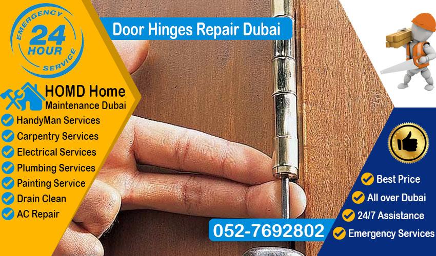 Door Hinges Repair Dubai