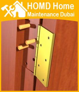 Expert In Door Hinges Repair Dubai