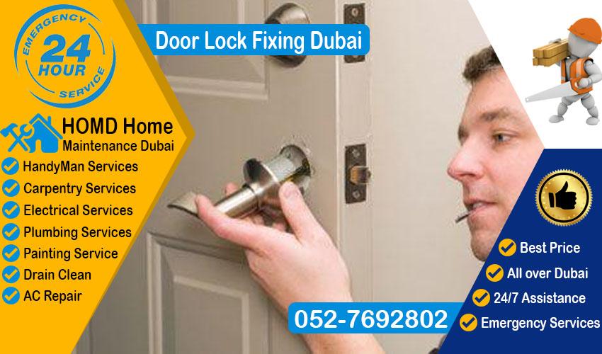 Door Lock Fixing Dubai