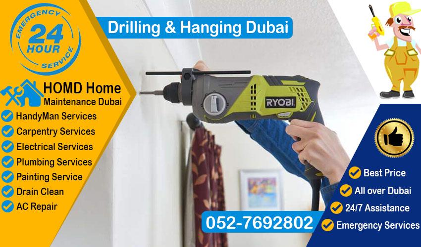 Handyman for Drilling Hanging Dubai
