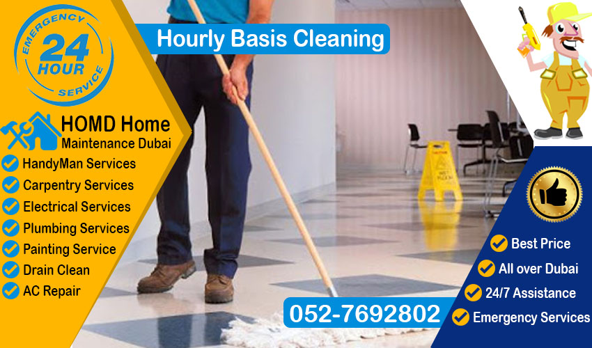 Hourly Basis Cleaning