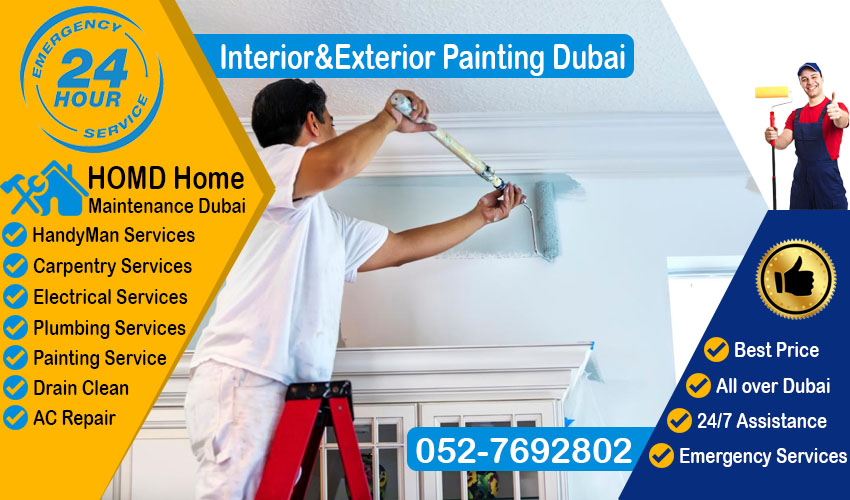 Interior & Exterior Painting Dubai