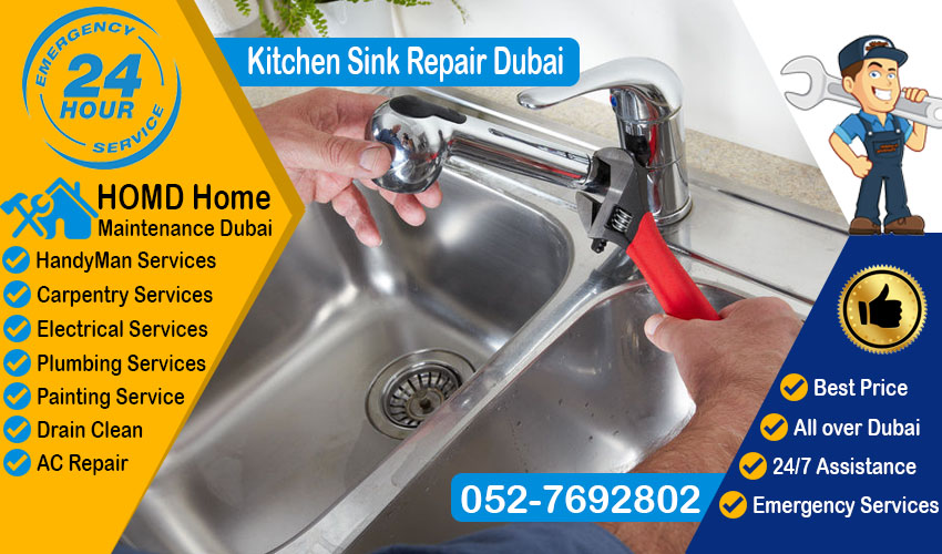 Kitchen Sink Repair Dubai Homd Home Maintenance Dubai