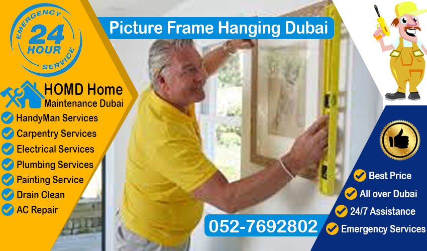 Pictures Frame Hanging Dubai