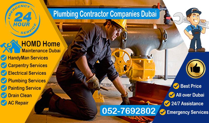 Plumbing Contractor Companies Dubai