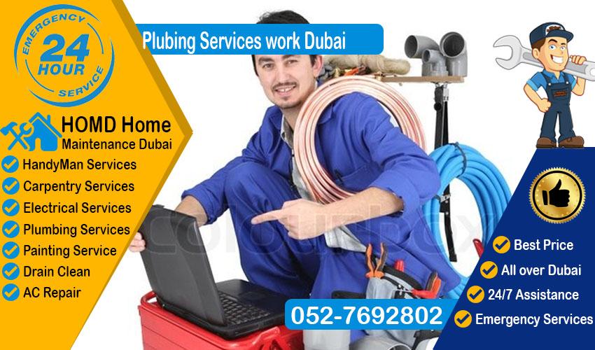 Plumbing Services work Dubai