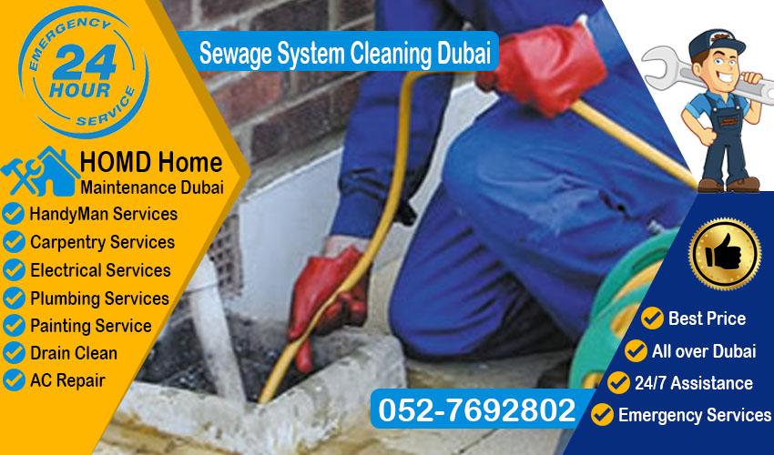 Sewage System Cleaning Dubai