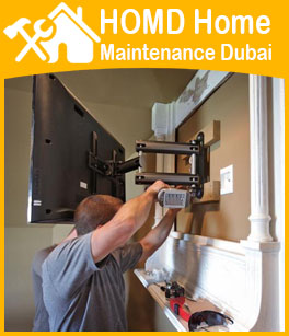 TV Wall Brackets fixing Dubai Professional Handyman