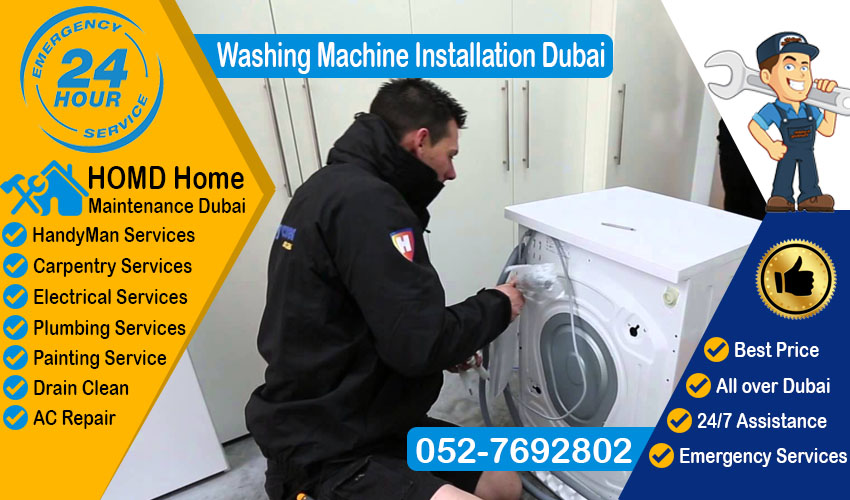 Washing Machine Installation Dubai