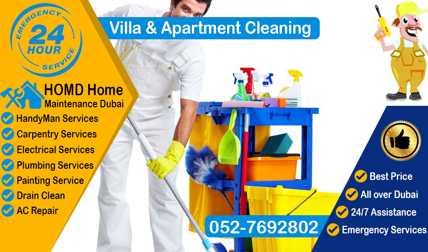 Villa & Apartment cleaning