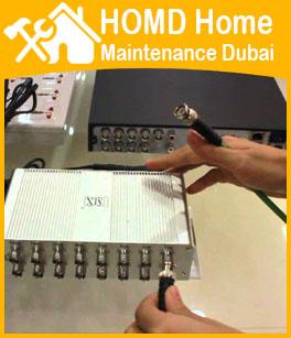 CCTV Camera Security Installation Dubai