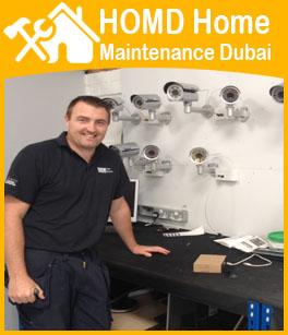 Expert CCTV Camera Security Installation Dubai