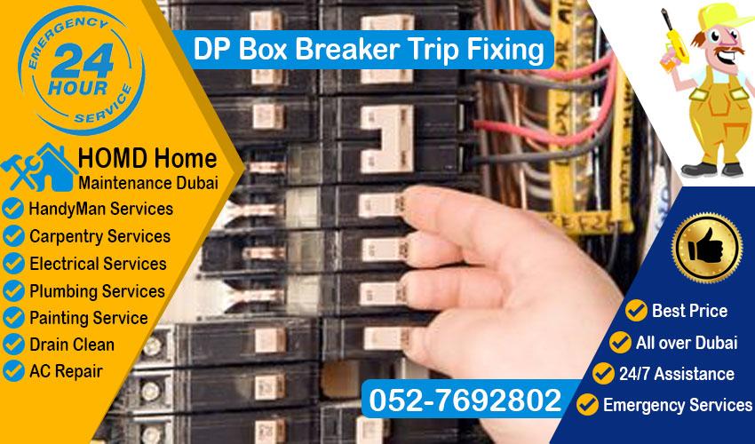 DP Box Breaker Trip Fixing