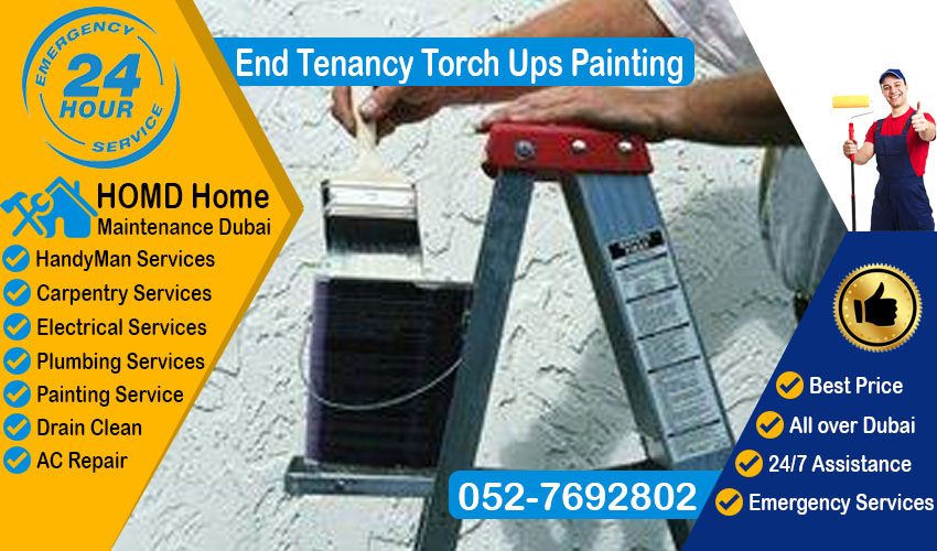 End Tenancy Torch ups painting