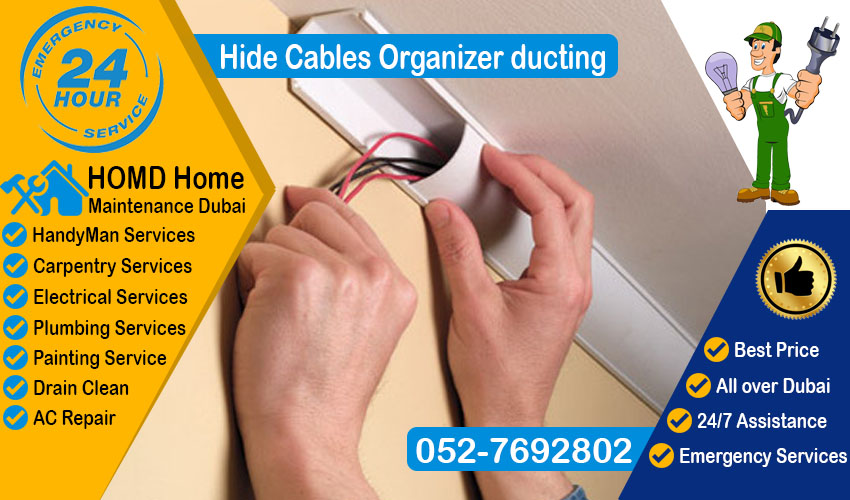 Hide Cable Ducting Dubai